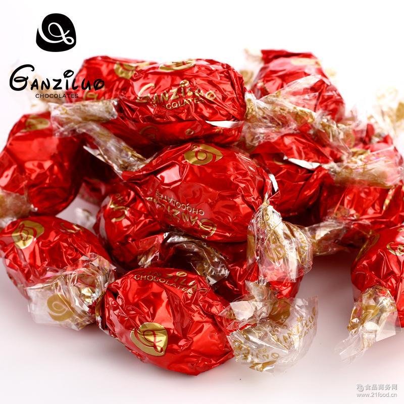 甘滋罗脆香米巧克力礼盒800g节日礼品食品零食批发一件 厂家直销