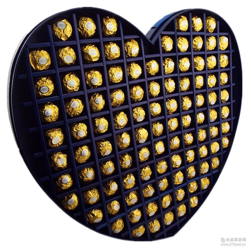 私人订制129格意大利费列罗巧克力生日节日礼物*定制一件代发