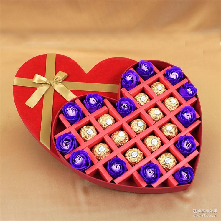 28格意大利费列罗巧克力DIY创意礼盒装生日节日礼物爆款一件代发