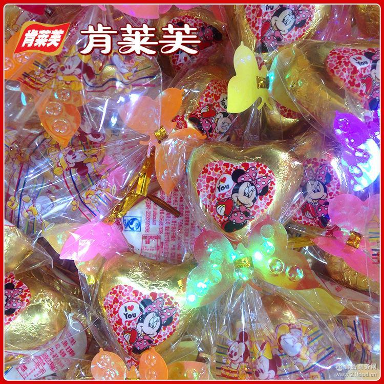 婚庆散装喜糖巧克力糖果代发货 热销推荐香浓丝滑心心相印巧克力
