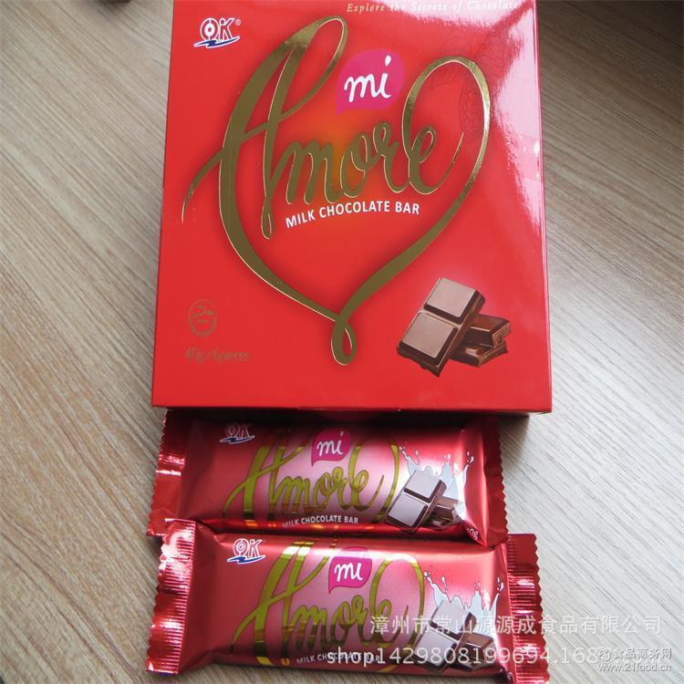 厂家提供 牛奶巧克力 婚庆喜庆糖果 一手货源 情人节礼物送礼佳品