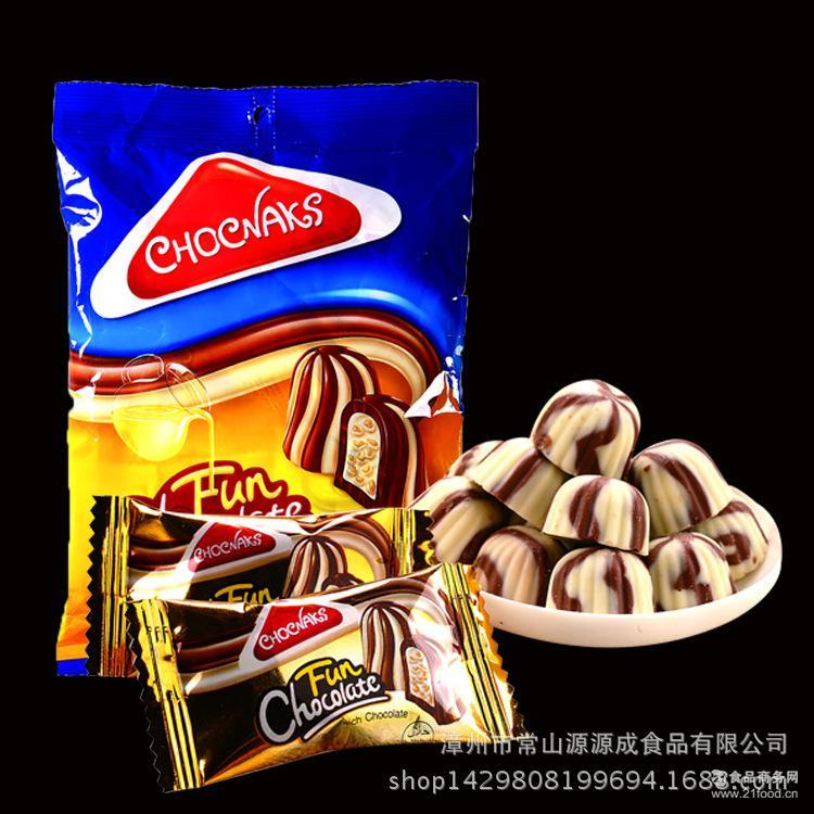 供应有趣的巧克力厂家批发婚庆喜庆糖果一件起批40袋装情人节礼物