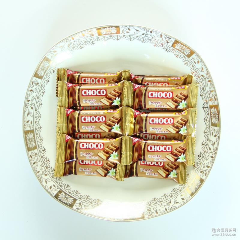 批发 浓香丝滑巧克力糖果 高档伊丝特涂层巧克力 休闲食品巧克力