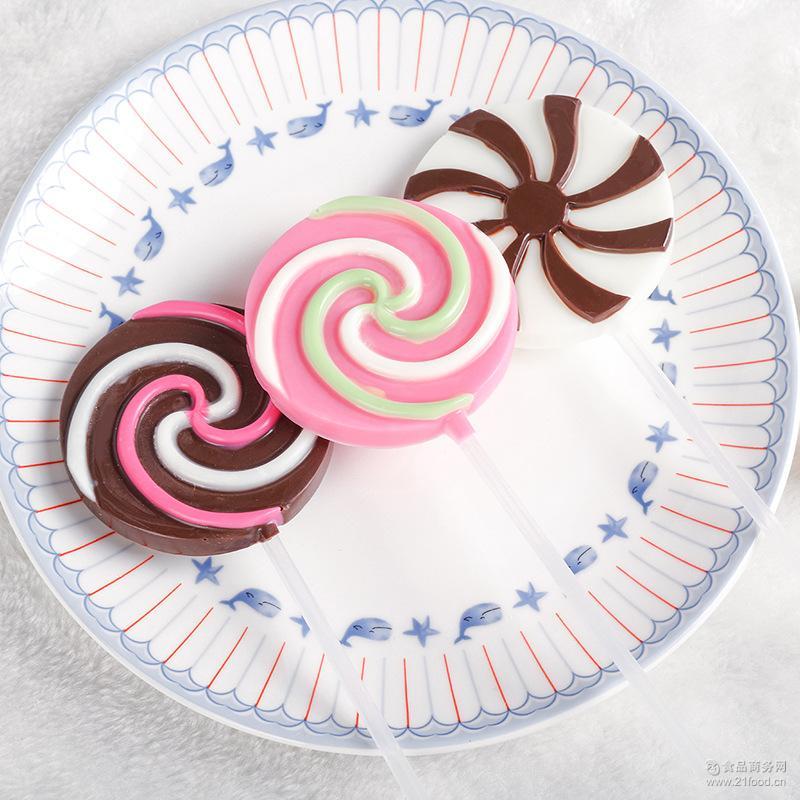 风车糖黑巧克力棒棒糖 35g护齿巧克力棒棒糖礼盒休闲零食批发
