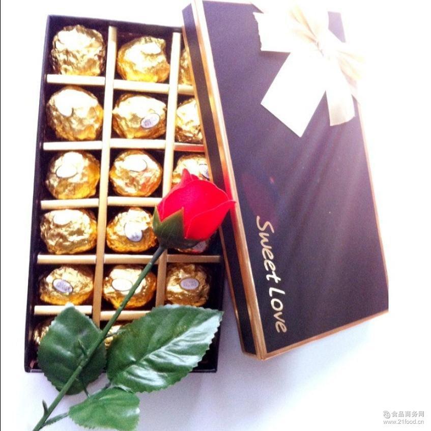 18格费列罗巧克力口味DIY创意礼盒装生日节日礼物爆款一件代发