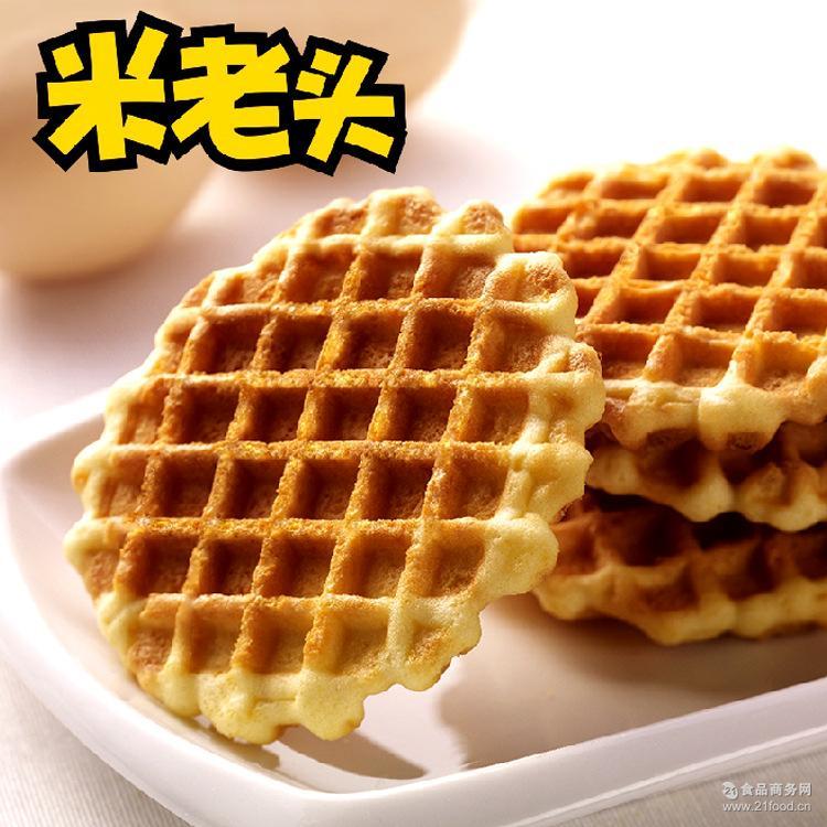 营养早餐饼干8斤/箱 米老头蛋黄煎饼牛奶味 厂家代理直供实体批发