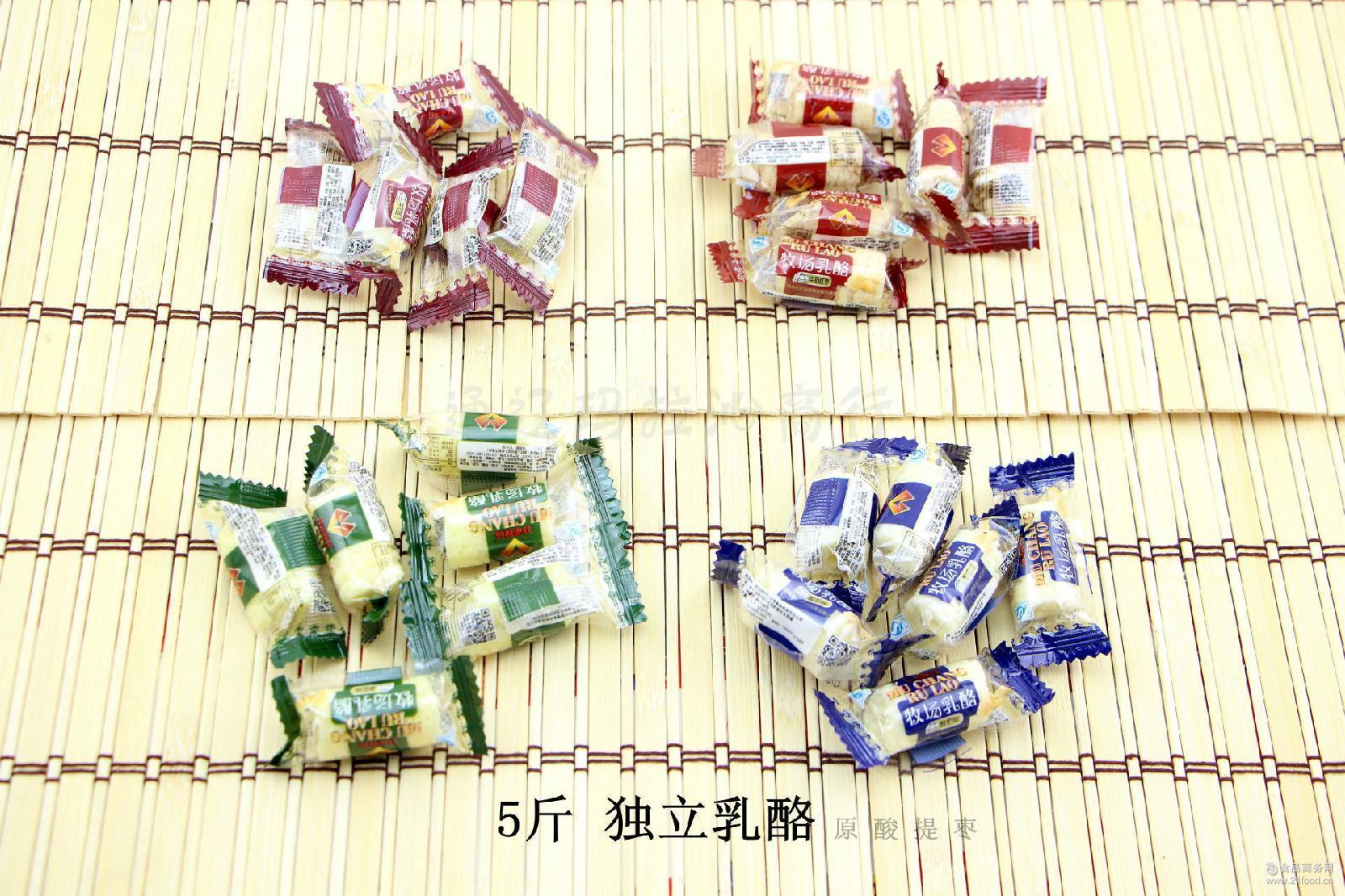 5斤独立奶酪奶干北国情祥禾牧场乳酪内蒙古休闲零食特产奶制品