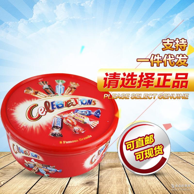 英国进口Mars玛氏巧克力 夹心巧克力糖果什锦婚庆圣诞节礼盒750g