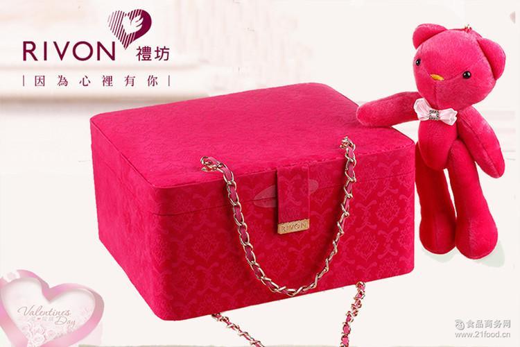 台湾原装进口 宏亚礼坊华丽洛可可饼干糖果大礼包情人节送礼曲奇