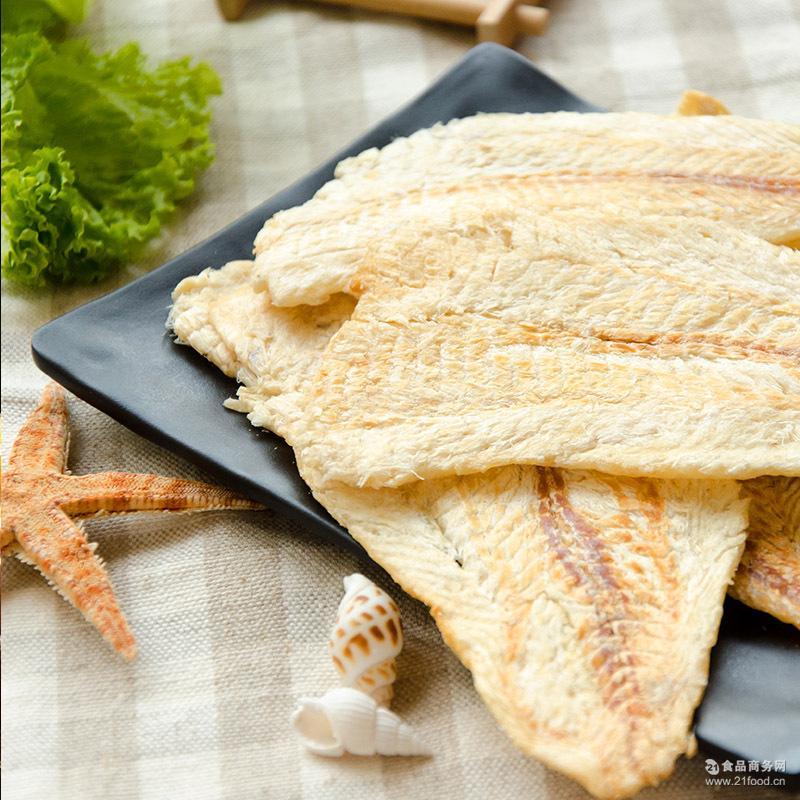 散装办公海鲜休闲食品批发 碳烤鳕鱼片干 即食海鲜烤鱼片干货200g