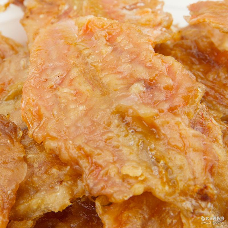 广东特产优质散称香酥红娘鱼 休闲食品 鲜烤鱼片 五斤装 鱼干