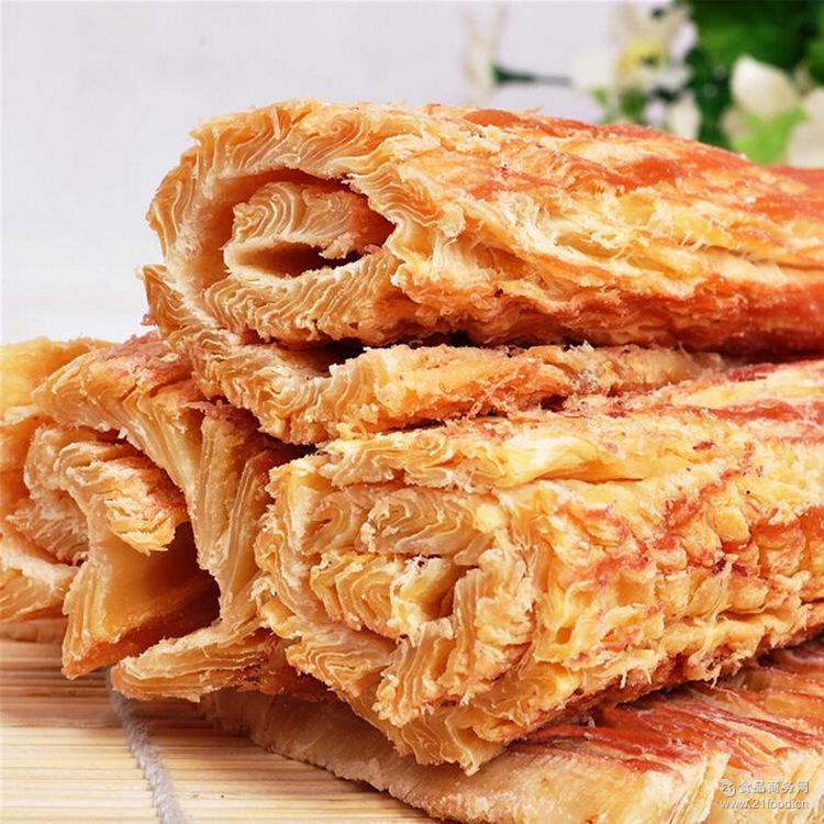 【进口好食材】即食海鲜休闲零食原味 箱 辣味手撕风琴墨鱼片10斤