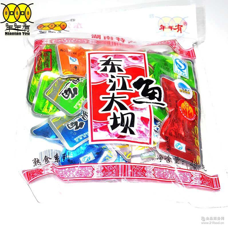 休闲食品代理 280g年年有袋装东江糖果鱼 厂家批发供应