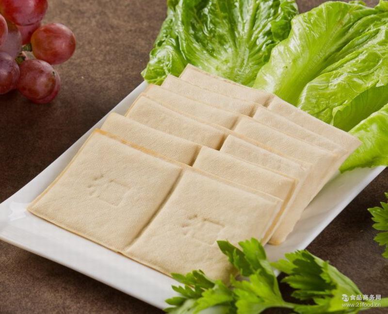 非转基因大豆制品 一级原 新鲜豆腐干 原味豆干 无防腐剂 白豆干