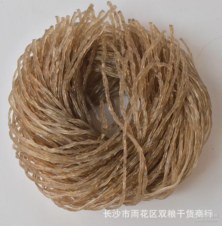 干货特产 散装圆圈红薯粉丝 火锅粉条 厂家批发