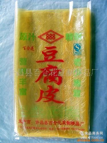 腐竹皮(图) 厂家直销豆制品 豆腐皮 专业生产精品豆油皮