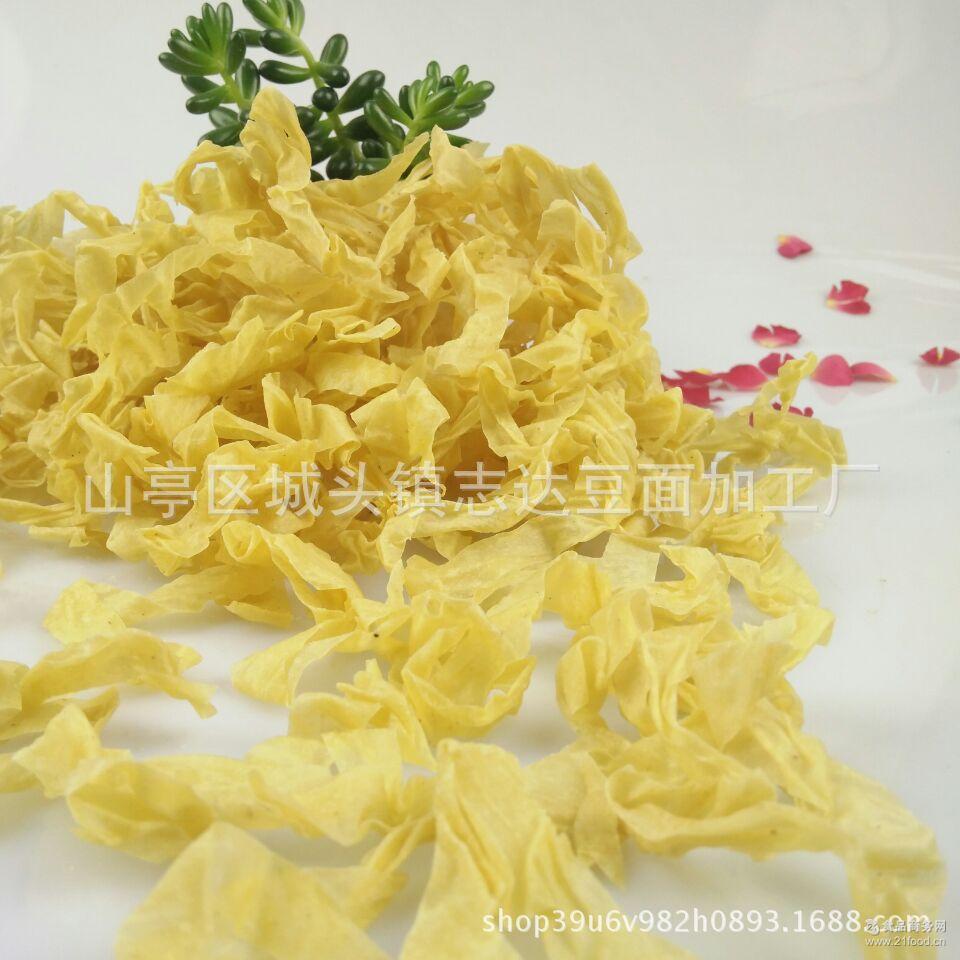 豆皮素肉食腐竹丝豆丝牛排丝圈豆制品自制干货凉拌农家
