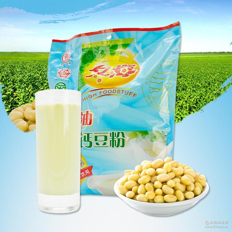 冬梅豆粉 豆浆代餐粉 维A油强化钙豆粉 早餐速溶食品350g/袋