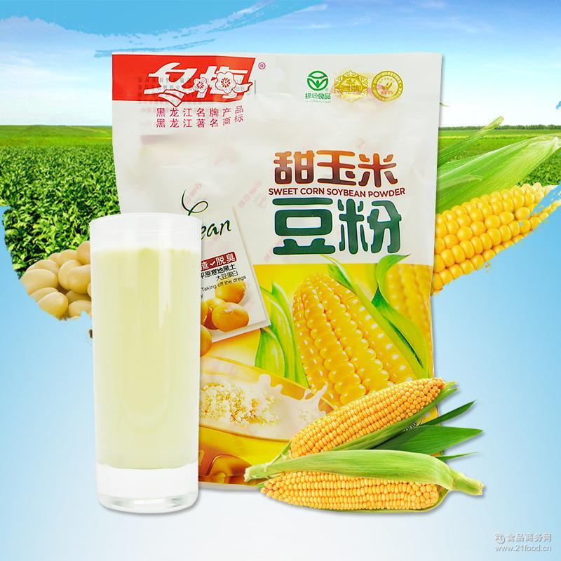甜玉米豆粉 早餐代餐速溶食品300g/袋 豆浆代餐粉 冬梅豆粉