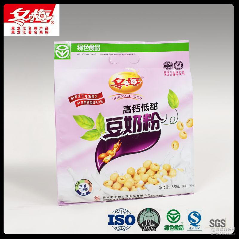 冬梅厂家直销批发高钙低甜豆浆粉冲调饮料固体饮料豆奶粉食品饮料