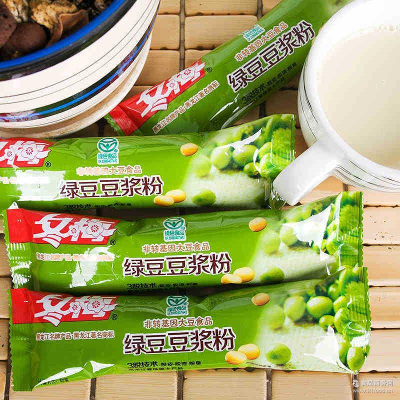 冬梅豆浆粉东北绿豆味豆粉饮料厂家批发直销特产食品代餐粉原料