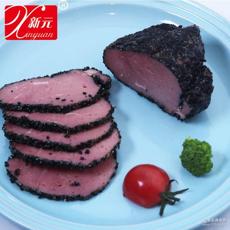新元黑椒牛肉200克户外熟食野营熟菜方便速食旅行食品5包/箱
