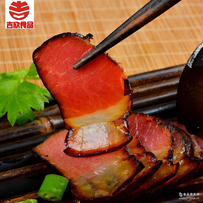 包邮吉欣四川特产农家自制柏枝丫烟熏老腊肉二刀五花腊肉烟熏腊肉