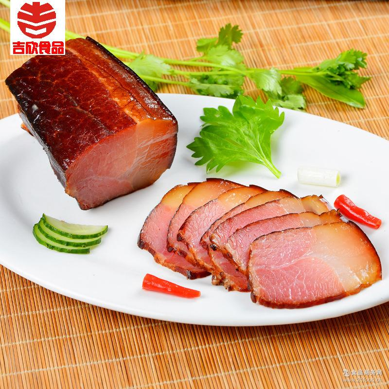 吉欣四川特产蜀味传承礼盒香柏丫腊肉猪耳川味麻辣香肠猪嘴2000g