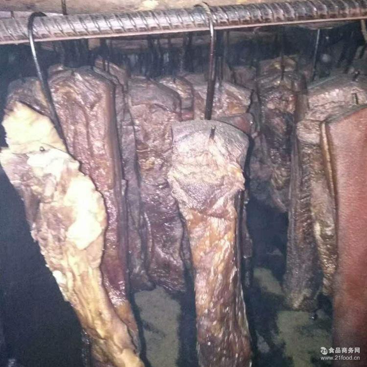 柴火烟熏肉土猪腊肉500g真空 重庆土特产农家自制腊肉 厂家直销