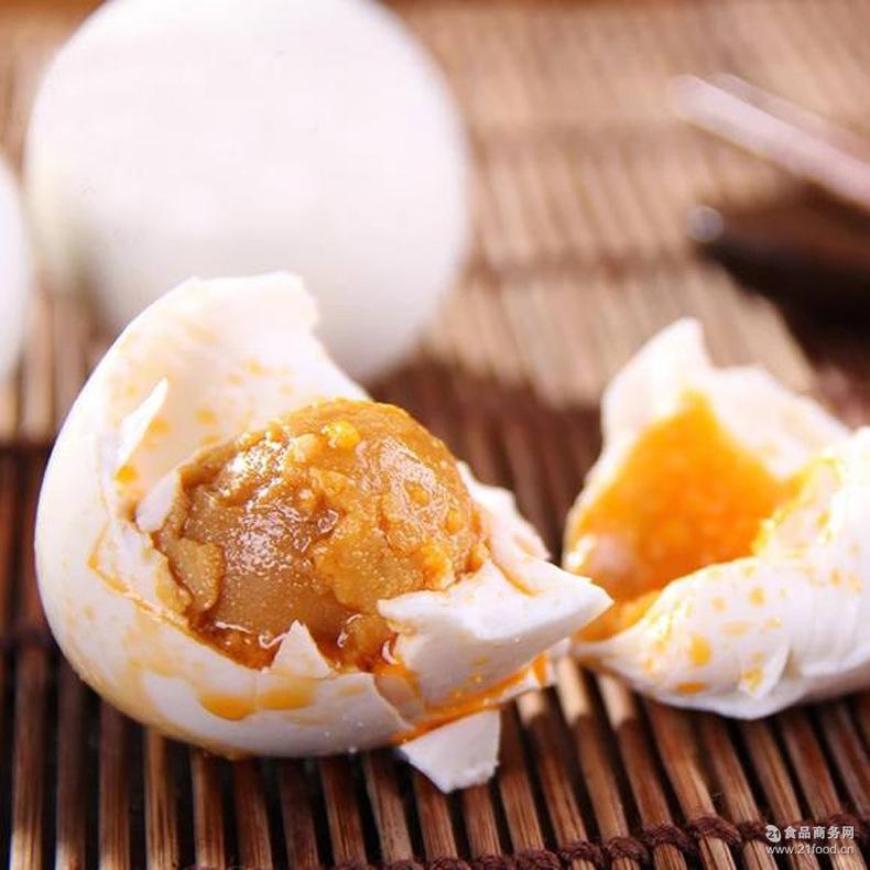 新鲜鸡蛋鹅蛋 亚弟正宗广西北部湾红树林烤海鸭蛋流油熟咸鸭蛋