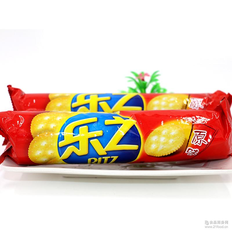 咸饼干 乐之原味韧性饼干100克 休闲零食办公室零食 松脆饼干