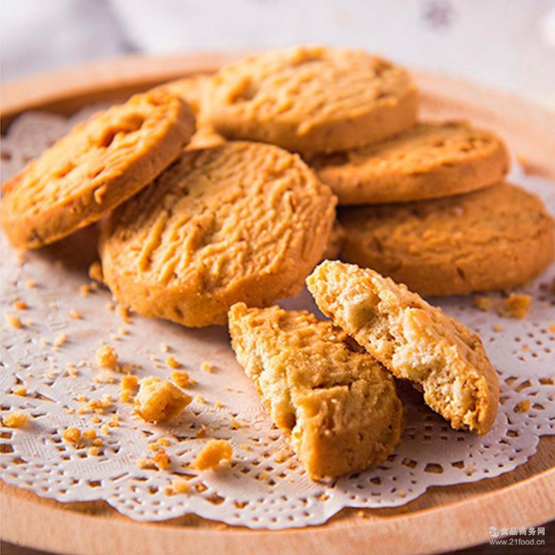 进口食品 马来西亚猫山王 批发包邮 榴莲燕麦曲奇饼干 16个/盒
