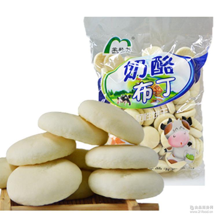 奶酪布丁饼干 450g/包韧性饼干零食小吃包装休闲食品儿童饼干辅食