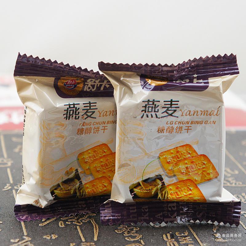 舒卡:木糖醇散装饼干 10斤/箱 多口味