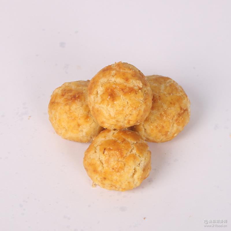 供应膨化食品美味曲奇饼干 散装休闲零食小吃 厂家批发小核桃酥