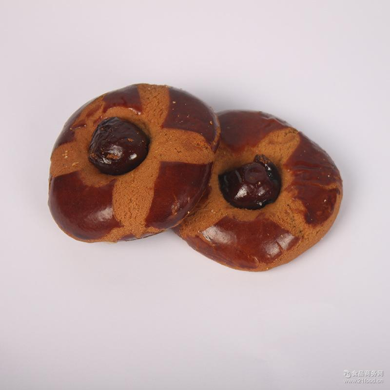 休闲零食小吃 无添加蜜枣桃酥 厂家批发 美味休闲零食食品饼干