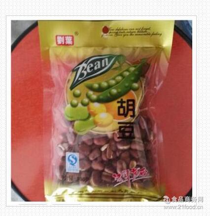 零食坚果100g刘叶麻辣兰花豆休闲小零食蚕豆