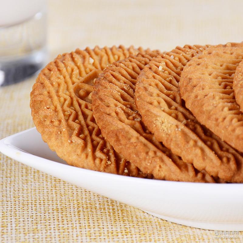 牛乳味大饼干儿童营养早餐香松酥脆饼干下午茶休闲零食品批发