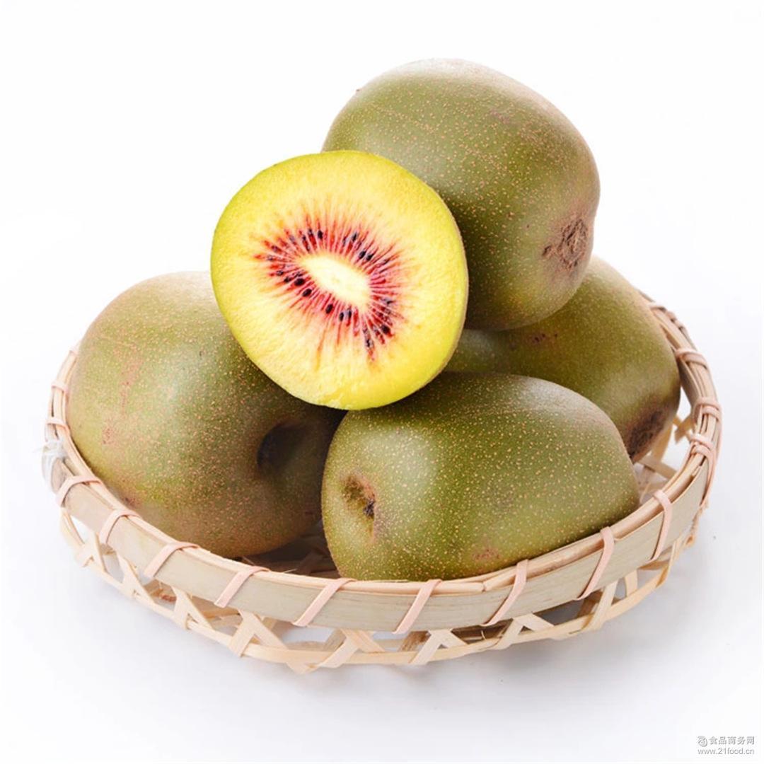预售红心猕猴桃15个中果蒲江红阳奇异果预计8.20号左右发货