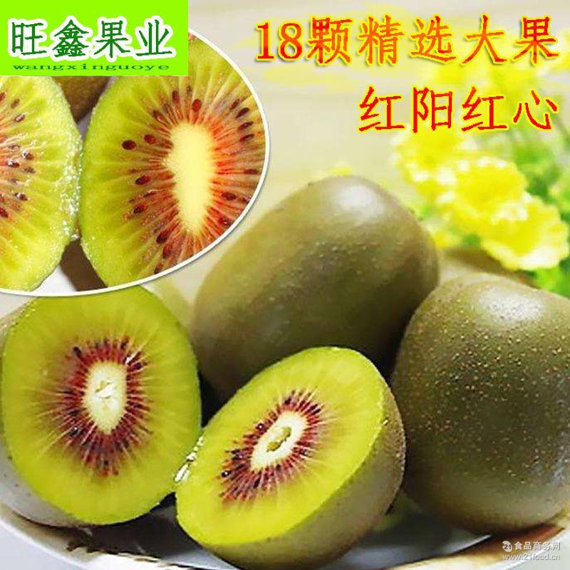 红心猕猴桃 新鲜水果一件代发包邮 奇异果 陕西弥猴桃 批发猕猴桃