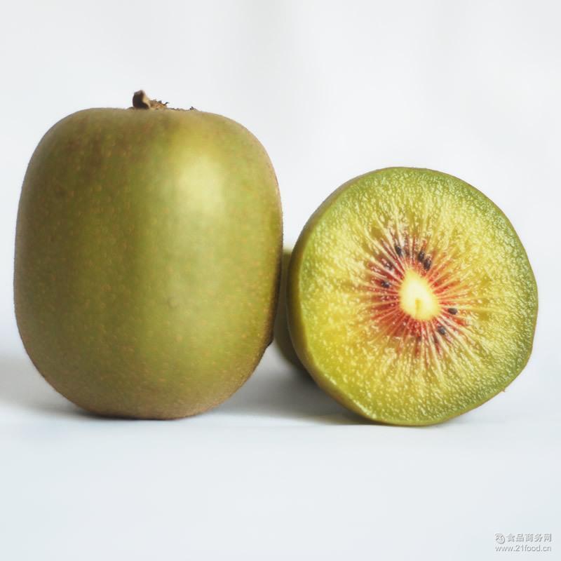 四川红心猕猴桃奇异果红阳猕猴桃6粒试吃新鲜水果特产 现摘现发