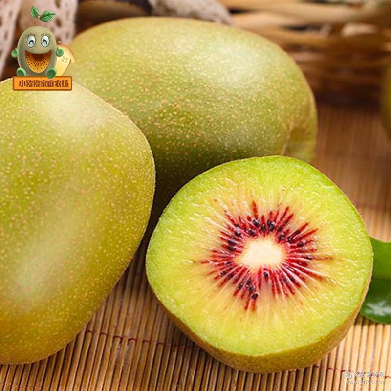 预售四川蒲江特色水果红心红阳猕猴桃奇异果现摘现发礼盒20个装