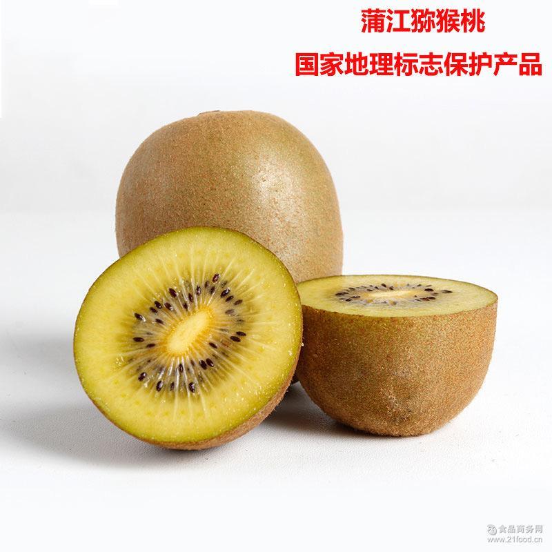 蒲江金艳黄心猕猴桃 11月起批 标准大果 产地直发 量大从优