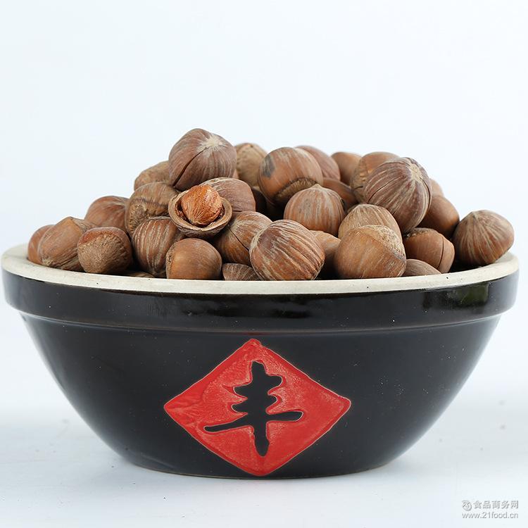 厂家批发长白山开口大榛子 东北特产坚果零食散装休闲零食批发