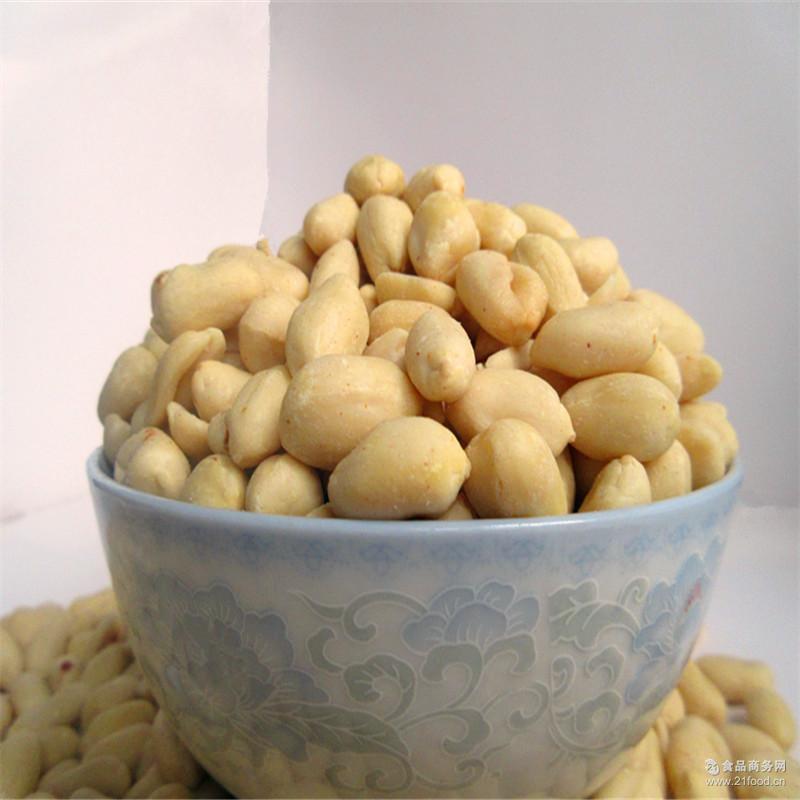 乳白花生米 去皮花生米 可做食品商品原料 脱皮花生米 山东花生