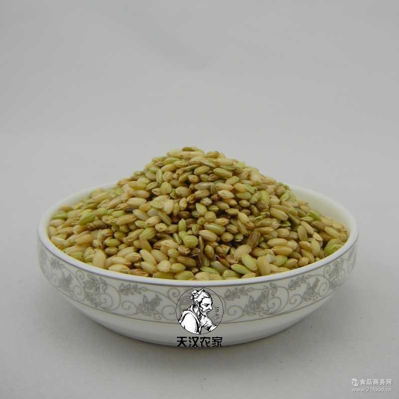 绿香米五彩米 【天然绿色大米批发】稀有食材洋县绿米