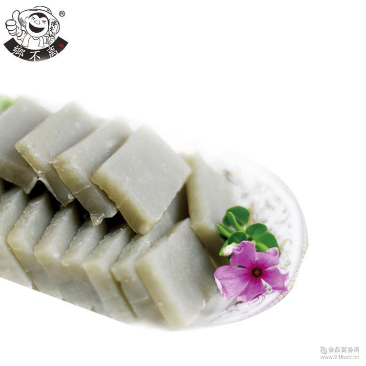 厂家大量批发河南特产纯手工红薯焖子400g装火锅专用无添加可定制