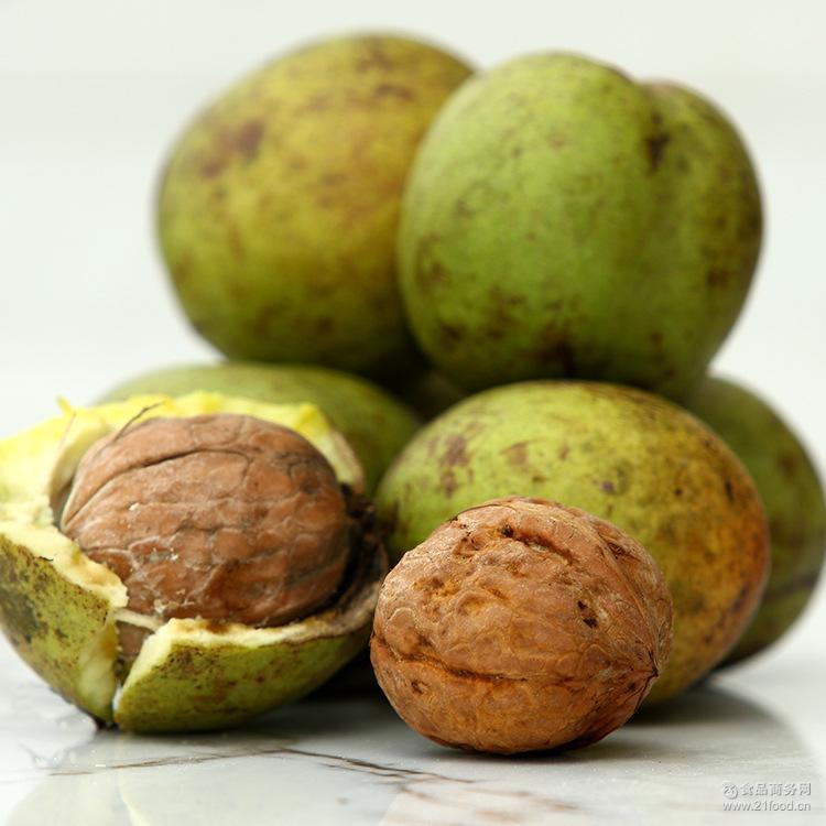 新鲜核桃 2016年新鲜去青皮鲜核桃 原味生新鲜薄壳孕妇零食坚果