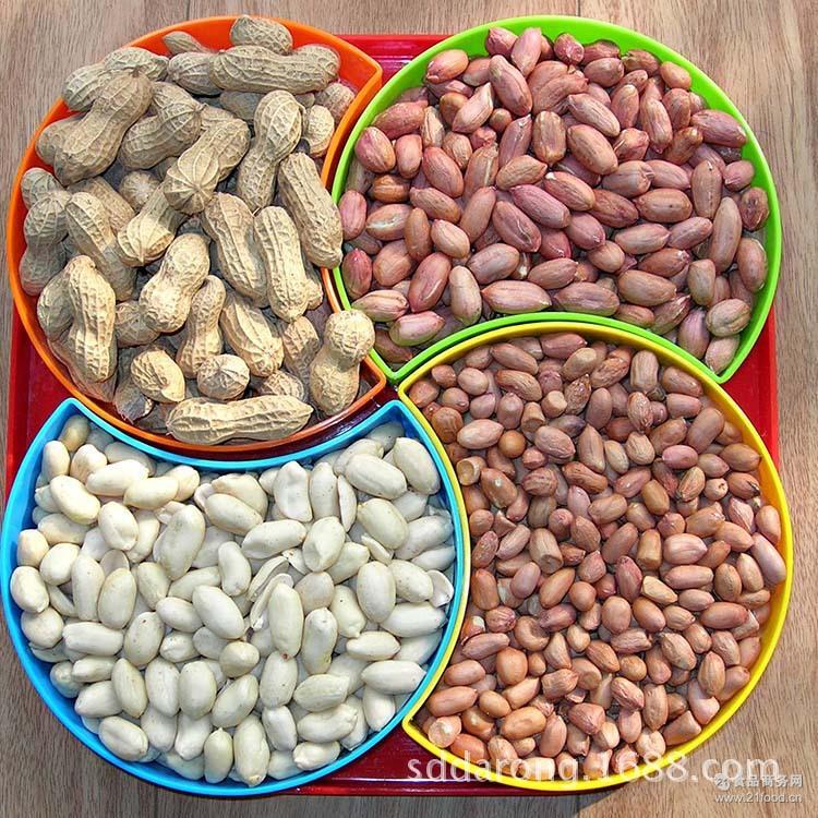 五谷杂粮 供应新生产的花生仁 白沙系列花生仁 袋装 乳白花生米