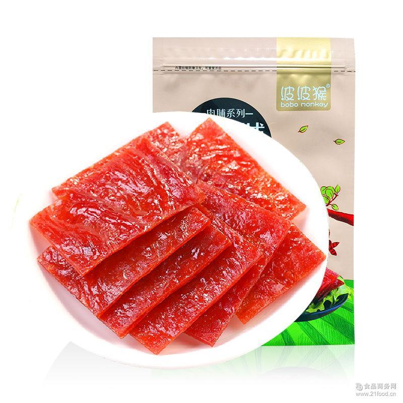 休闲食品手撕靖江猪肉脯蜜汁香辣零食200g特价批发一件代发